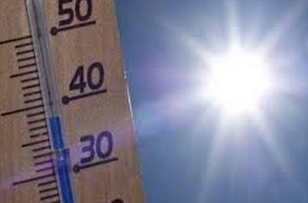 Calor extremo afectará en gran parte del país; máximas de hasta 50°