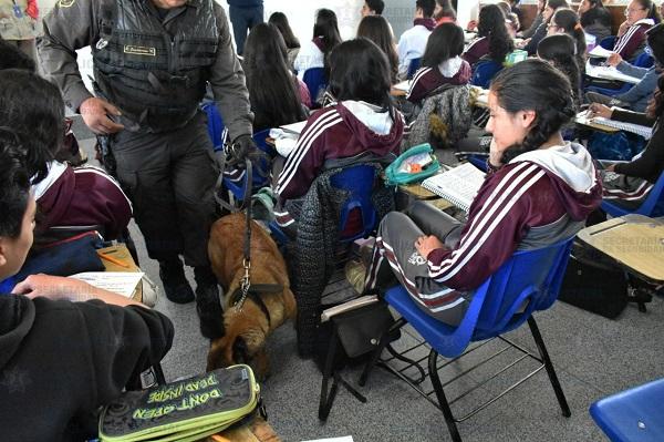 AUTORIDADES MEXIQUENSE MANTIENEN OPERATIVO «MOCHILA SEGURA» PARA PROTEGER A LAS Y LOS ESTUDIANTES MEXIQUENSES