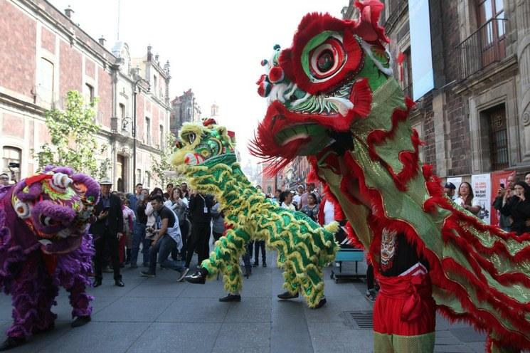 Comienzan en el Ángel festejos por Año Nuevo chino