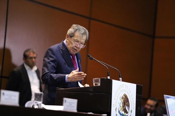 Presenta Muñoz Ledo nueva Ley del Congreso General para eficientar y fortalecer al Poder Legislativo