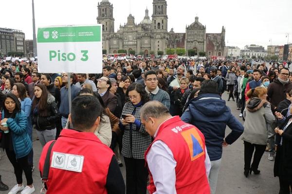 Realiza Ciudad de México primer Macrosimulacro de 2020