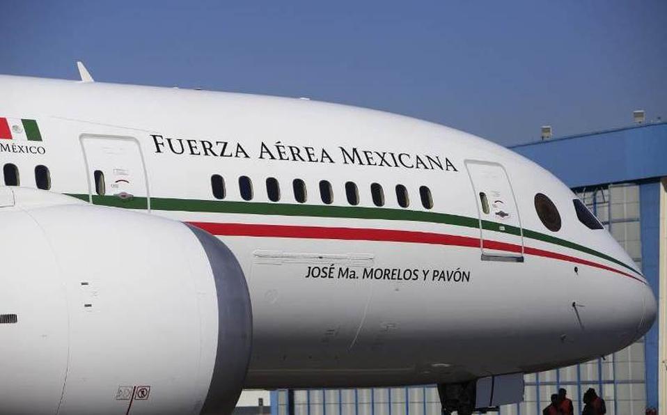 Regresará a México el avión presidencial