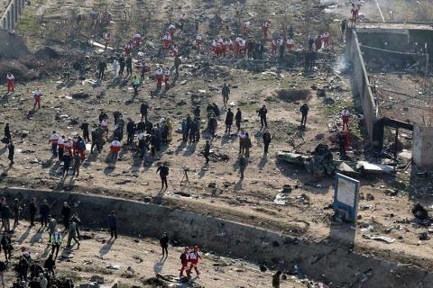 Anuncia Irán primeros arrestos por derribo de avión