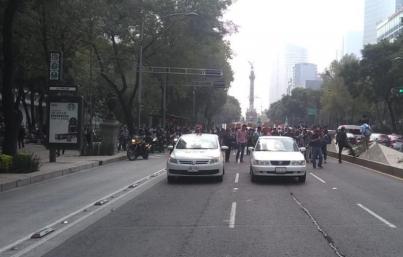 Se prevén cinco movilizaciones para hoy en Ciudad de México