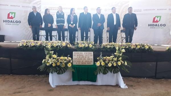 Colocarán memorial colectivo para las víctimas de Tlahuelilpan