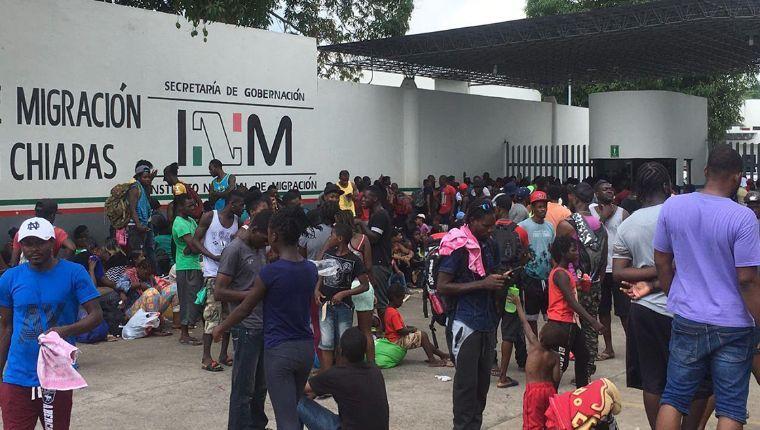 México ante una migración incontrolable