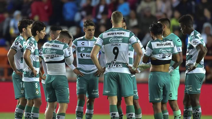 Ocho jugadores del Club Santos dan positivo a COVID19