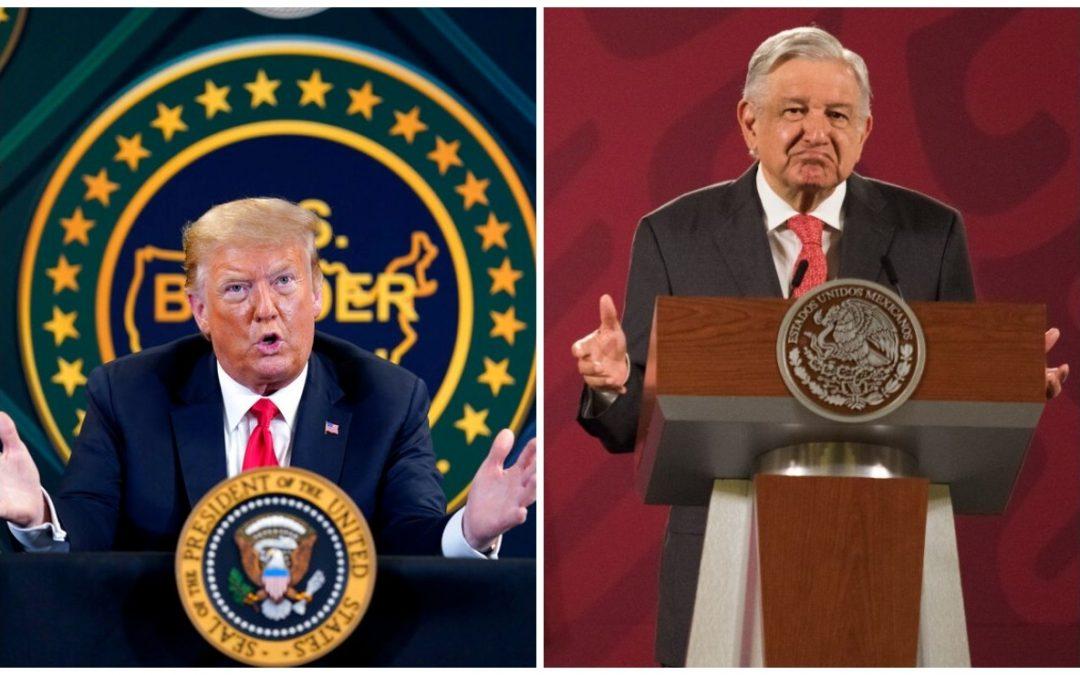 AMLO afirma que se reunirá con el presidente Trump en EE.UU.