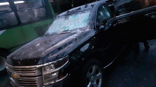 El CJNG robó su camioneta a un candidato del PRI
