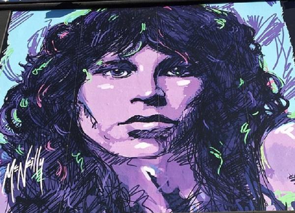 A casi medio siglo de la muerte de Jim Morrison, El Rey Lagarto, en París.