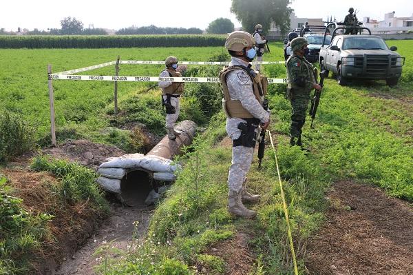 Inhabilitan toma clandestina de hidrocarburo en Hidalgo