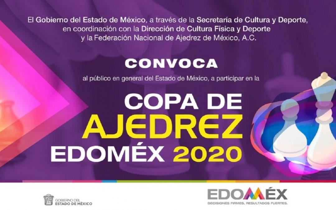 ORGANIZA SECRETARÍA DE CULTURA Y DEPORTE COPA DE AJEDREZ «ESTADO DE MÉXICO 2020″*