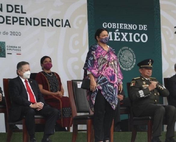 Asiste a la conmemoración del 201 Aniversario de la Indepedencia
