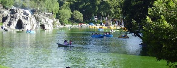 Fuga ocasiona disminución de agua en los lagos de Chapultepec