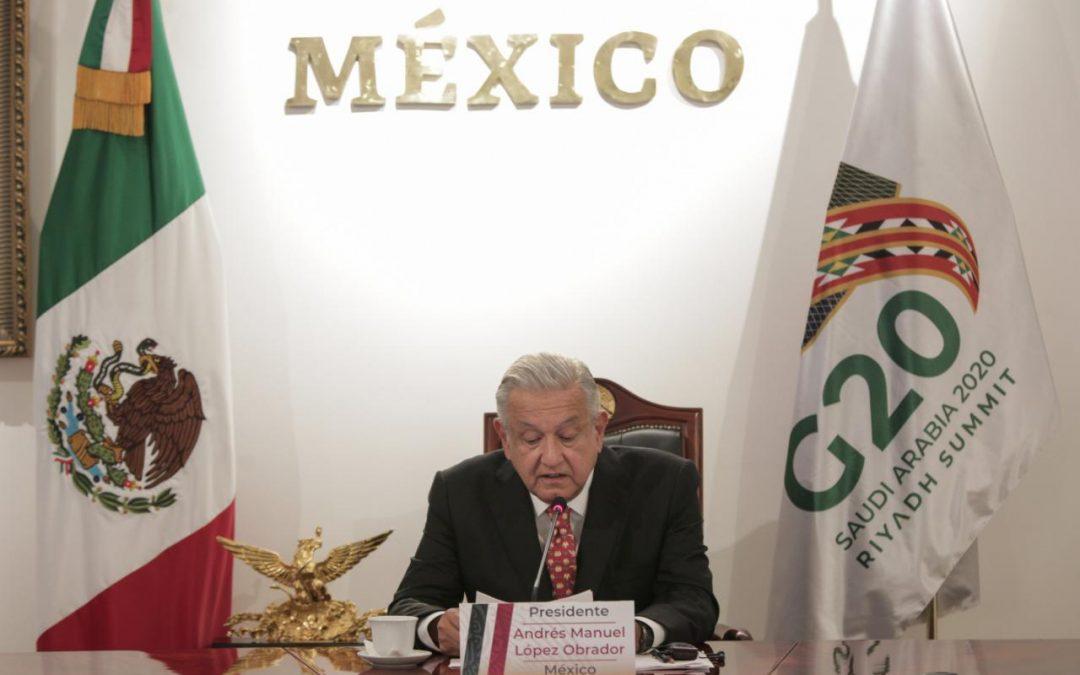 Ante la crisis económica mundial por COVID-19, AMLO propone quitar montos de deuda a naciones pobres y otorgar créditos