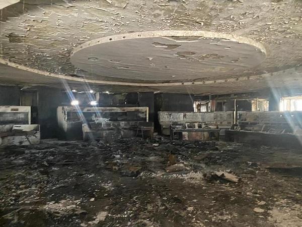 Revelan fotografías de cómo quedó el Centro de Control del Metro CDMX