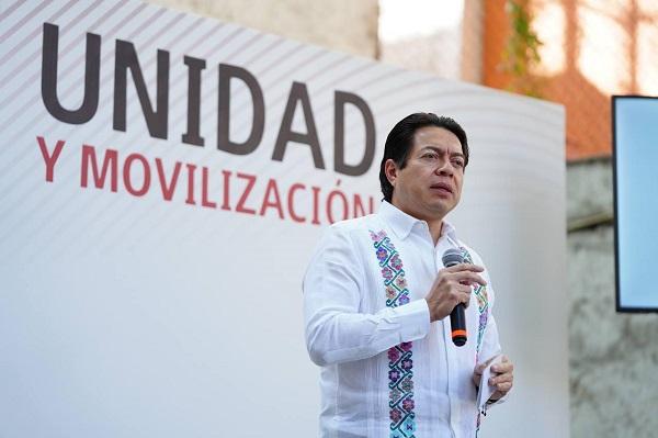 NO ES SUFICIENTE GANAR, ESTAS ELECCIONES MORENA TIENE QUE ARRASAR: MARIO DELGADO