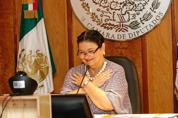 """Diputada Sauri Riancho participa en el """"Diálogo: Coordinación y alineación estratégica de los objetivos de FOPREL"""""""