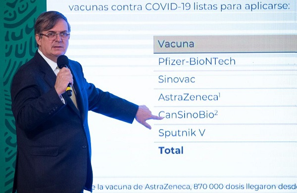 Realizará viajes al extranjero para garantizar entrega de vacunas