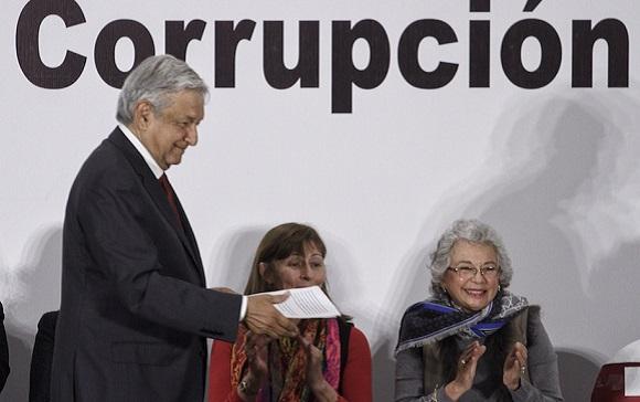La hipócrita lucha anticorrupción…