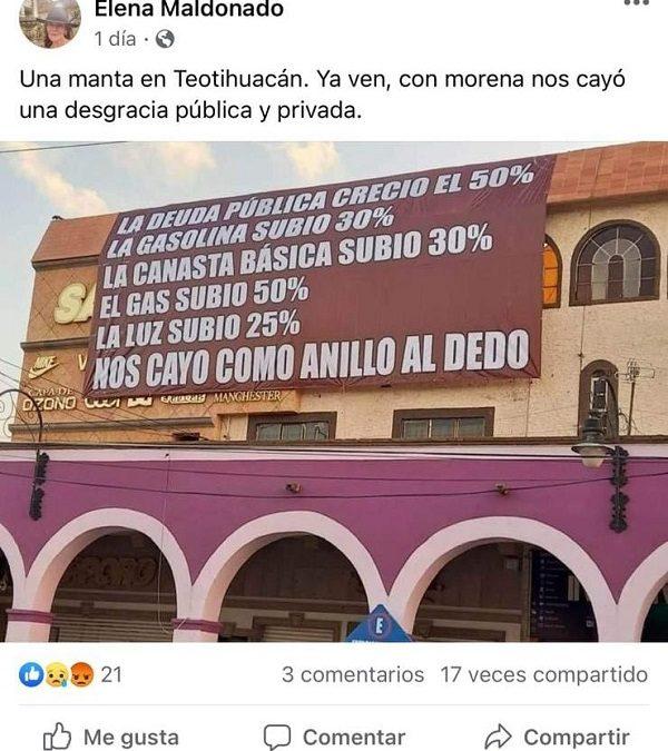Familia de la morenista Paula Soto se declara antiamlo, llama a votar por ella