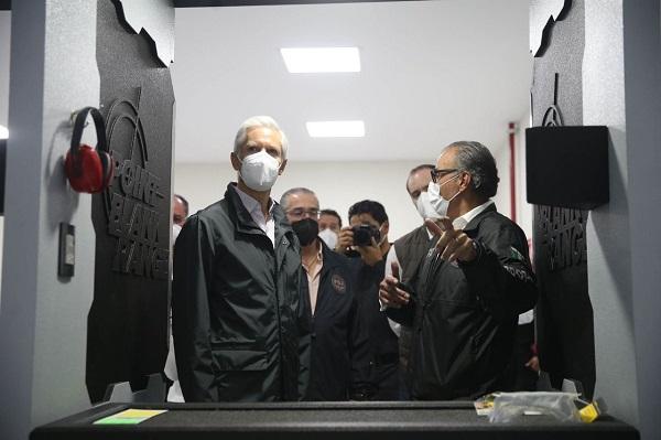 REALIZAN RECORRIDO EN LA UNIDAD ESPECIALIZADA DE COMBATE AL SECUESTRO EN EDOMÉX