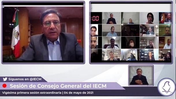 Modifica IECM modelos de documentación electoral para comicios del 6 de junio
