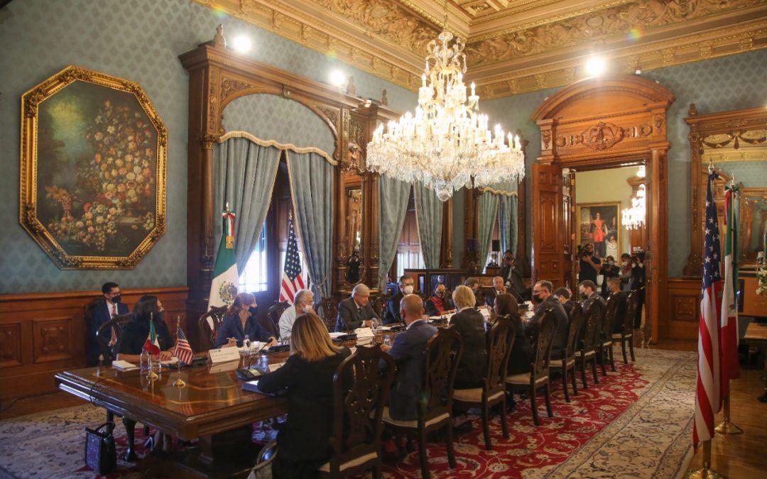Diálogo económico y de combate a la inseguridad, acuerdan México y Estados Unidos