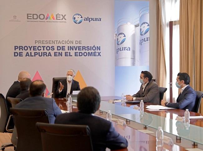 ALFREDO DEL MAZO DESTACA INVERSIÓN SUPERIOR A MIL 500 MDP DE ALPURA EN TERRITORIO MEXIQUENSE