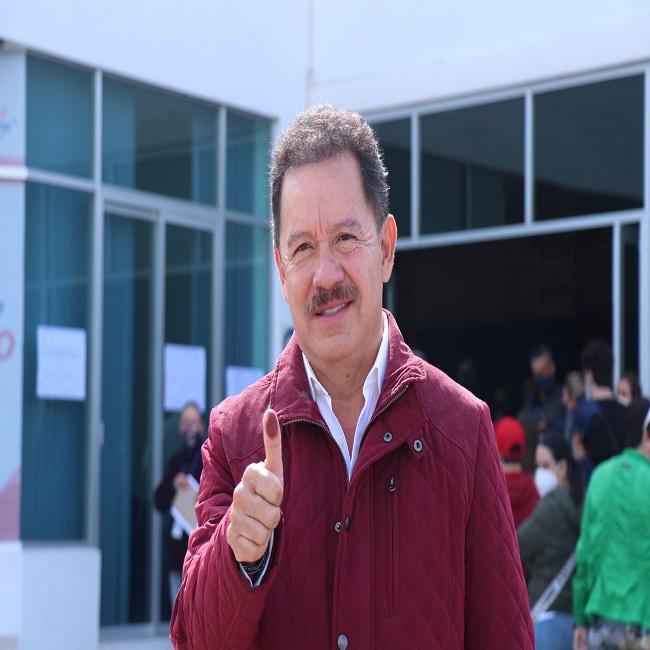 """En estas elecciones se """"juega el futuro del país"""", advierte Ignacio Mier, líder parlamentario de MORENA"""