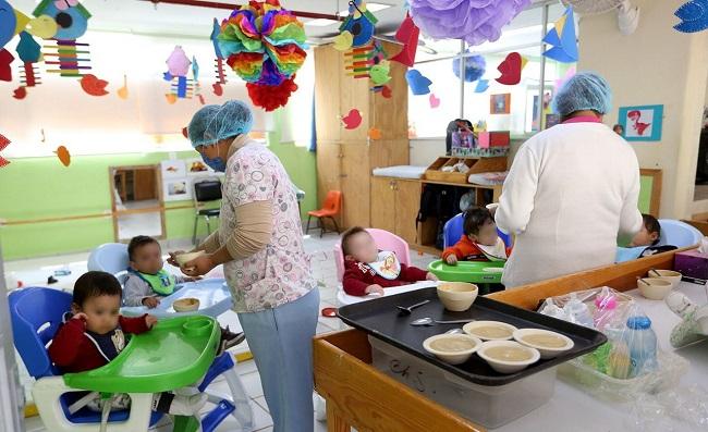 DESDE EL INICIO DE LA PANDEMIA, LAS ESTANCIAS INFANTILES DEL ISSSTE PERMANECEN EN OPERACIÓN