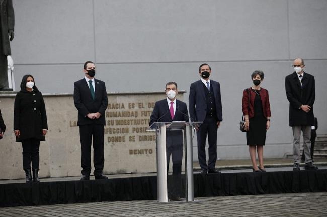 Con honores a la Bandera inicia jornada electoral