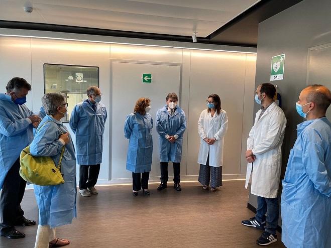SRE sostiene conversaciones en Italia para la posible producción de una nueva vacuna
