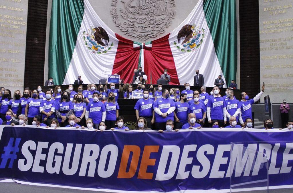 PROPONE PAN SEGURO DE DESEMPLEO; GARANTIZA 4 MIL 402 PESOS MENSUALES