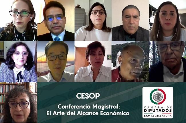 """Imparten conferencia magistral """"El arte del alcance económico"""""""