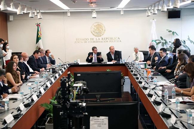 Acuerdan Juntas de Coordinación Política del Congreso de la Unión agilizar trabajos legislativos
