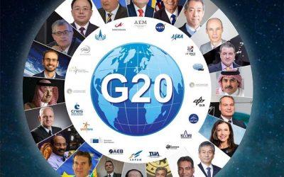 PARTICIPA MÉXICO EN TRABAJOS ESPACIALES DEL G20